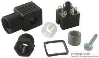 HIRSCHMANN 932448100 RECT POWER, RECPT W/PG 7GLAND, 6POS, CABLE (1 piece)