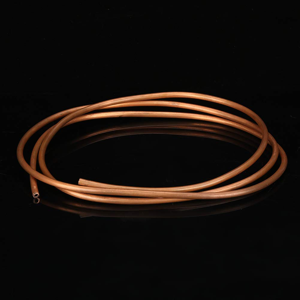 Copper Pipe, Refrigeration Tubing, Copper Tubing, 1 Roll Wire for Busbar for Generators Cable