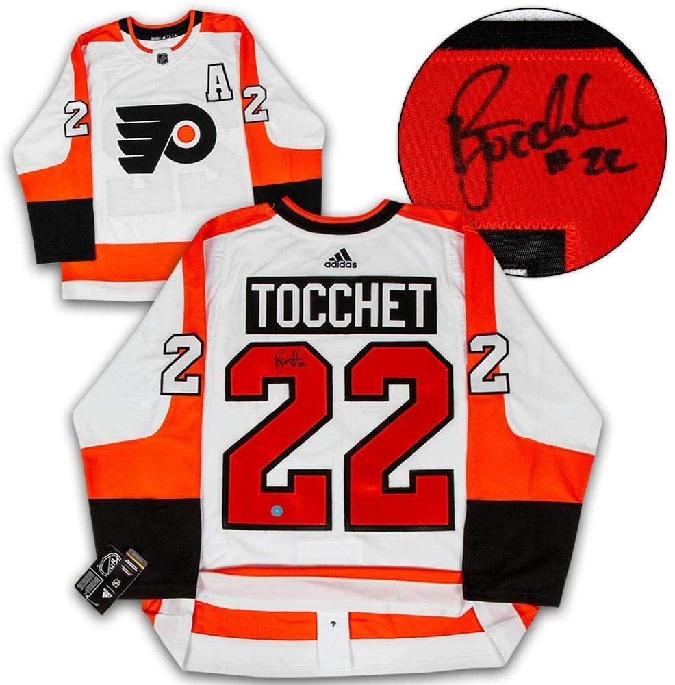 Rick Tocchet Autographed Jersey - Adidas - Autographed NHL Jerseys