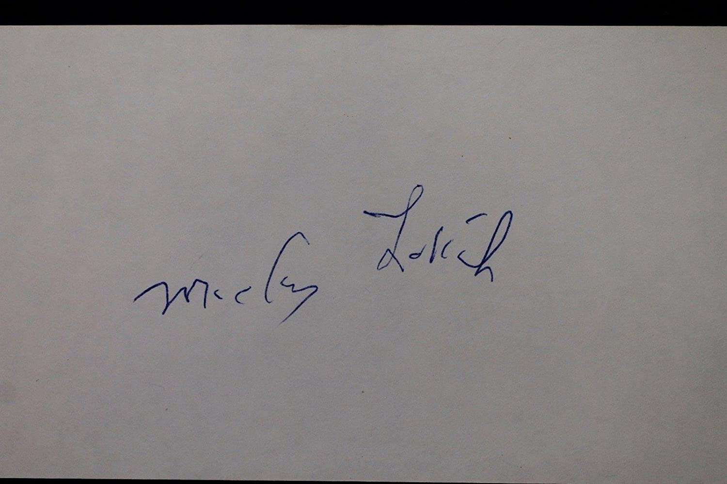 Mickey Lolich Padres Tigers Mets Autographed 3x5 Signed Index Card 17D - JSA Certified - MLB Cut Signatures