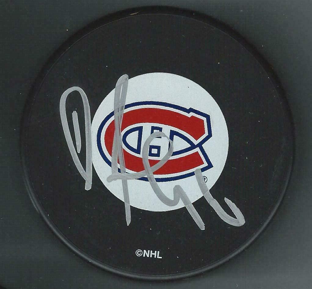 Richard Zednik Autographed Puck - Autographed NHL Pucks