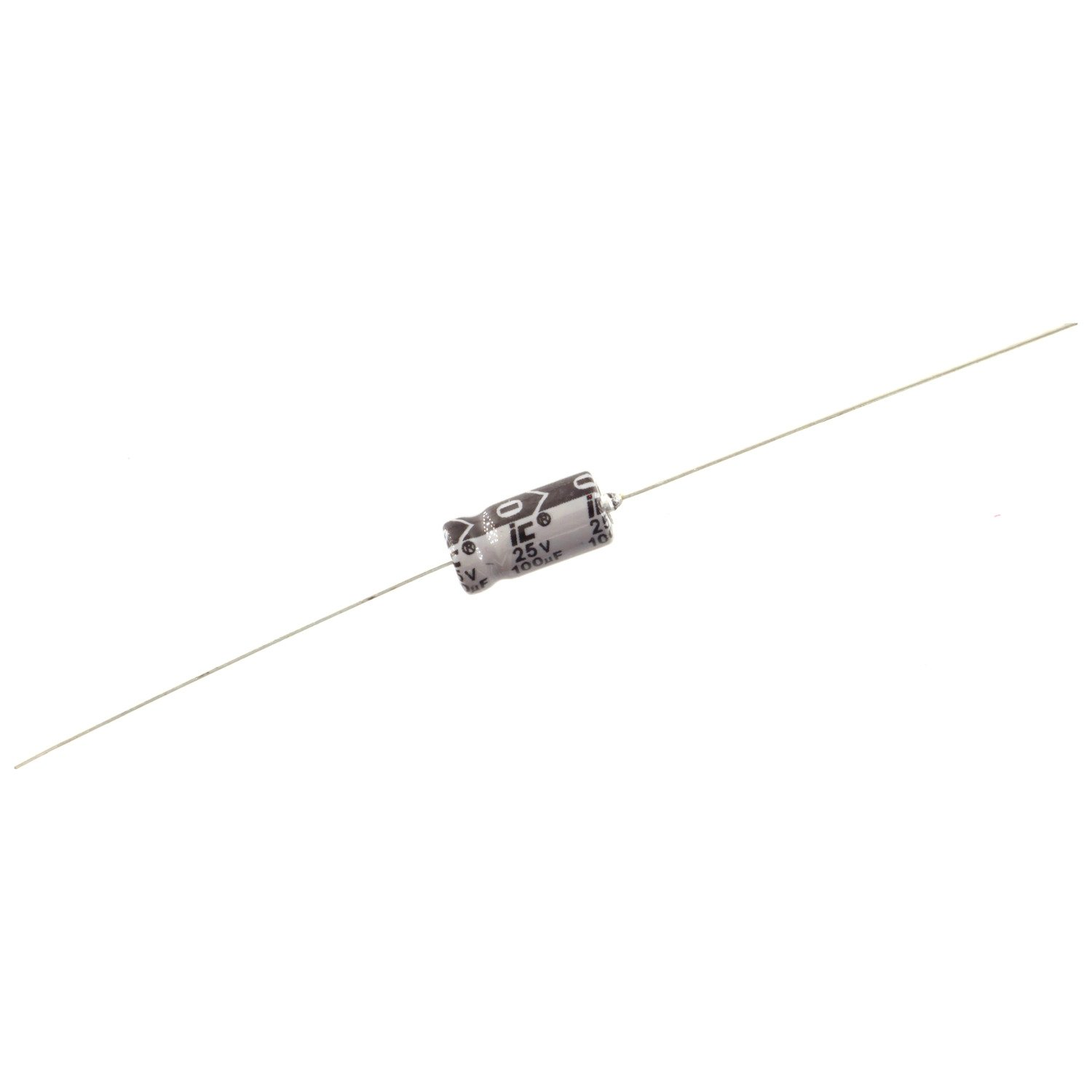 Illinois Axial TTA Series Axial Electrolytic Capacitor, 100uf @ 25V