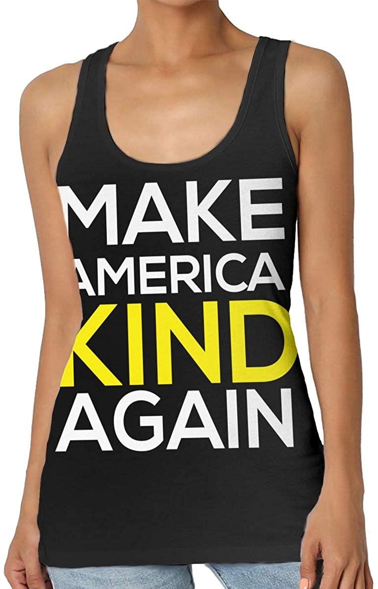 Make America Kind Again Women's Tank Top T-Shirt Fashion Sleeveless Vest