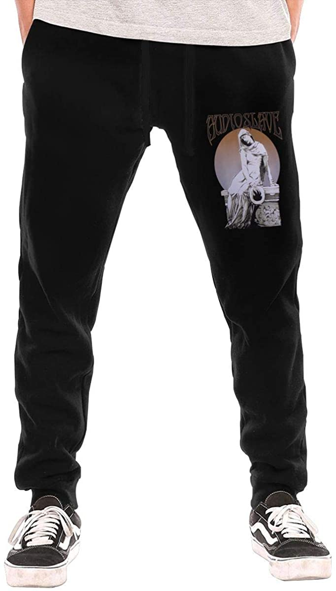 Frieda J O Audioslave Band Mens Long Pants Casual Sweatpants Workout Sports Jogger Trousers