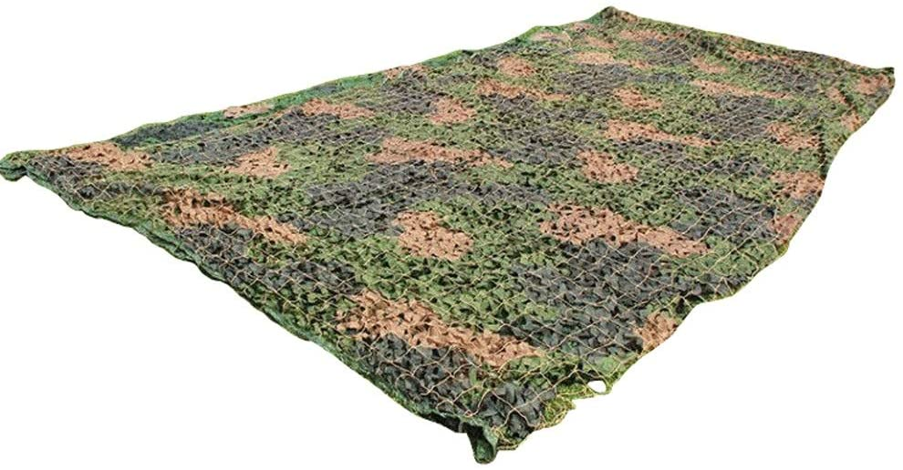 Jia He Outdoor Equipment Camouflage Net, Oxford Cloth Encryption Thick Three-Color Large Flower Army Green Camouflage Net, Suitable for Indoor Background Decoration, 13 Sizes (Size Can Be Customized)