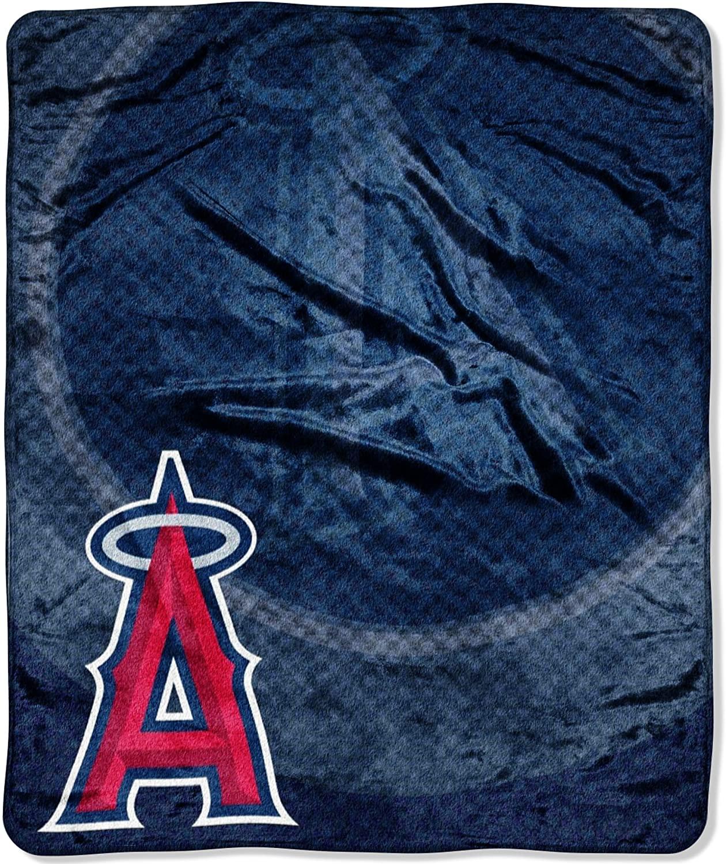 MLB Los Angeles Angels Retro Raschel Throw Blanket, 50 x 60