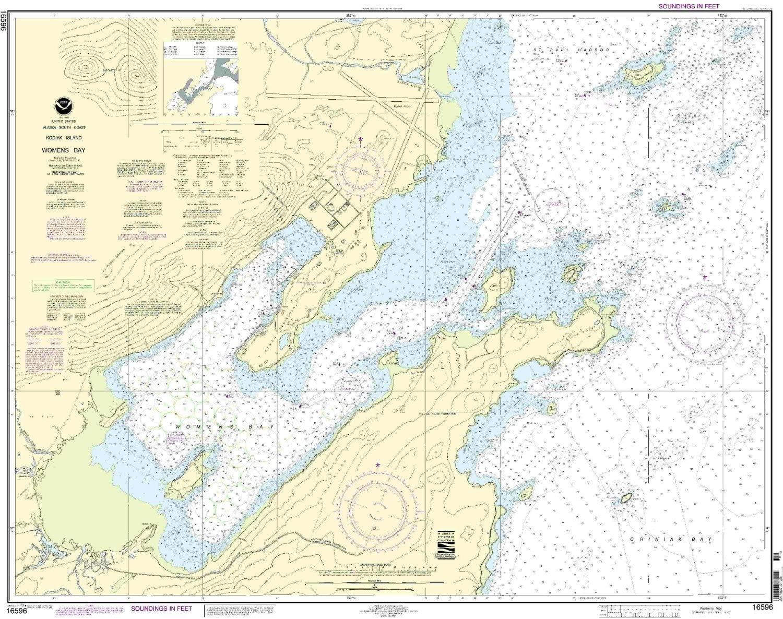 16596--Kodiak Island - Womens Bay