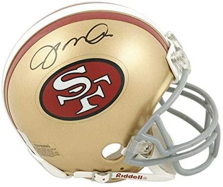Joe Montana Autographed Helmet - Mini FANATICS - Fanatics Authentic Certified - Autographed NFL Mini Helmets