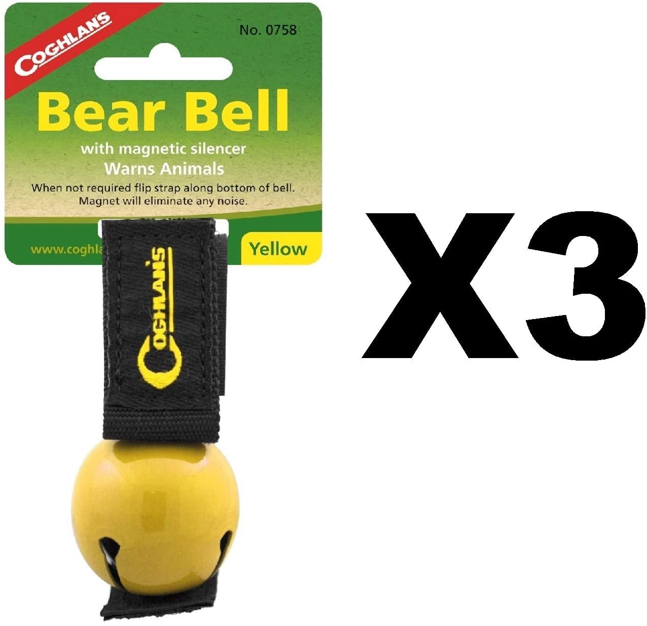 Coghlan's Colored Bear Bell Yellow