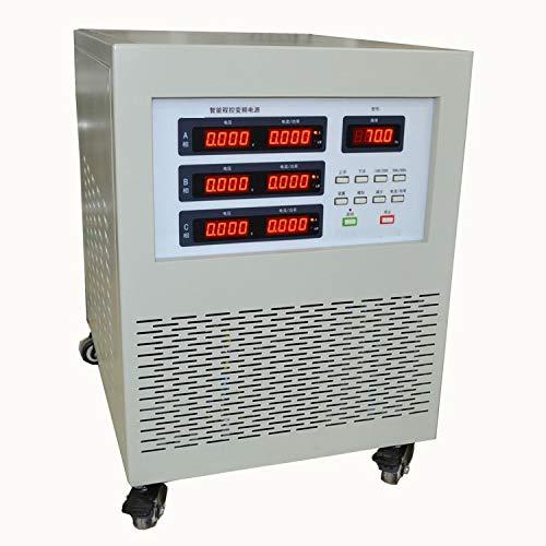 3KVA 3000VA Three to Three Phase AC programcontrol Variable Frequency Power Supply Source