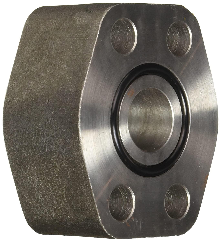 Brennan Industries 1937-62-16-16 Steel Flat Socket Block Tube, O-Ring Face, Code 62, 7/16