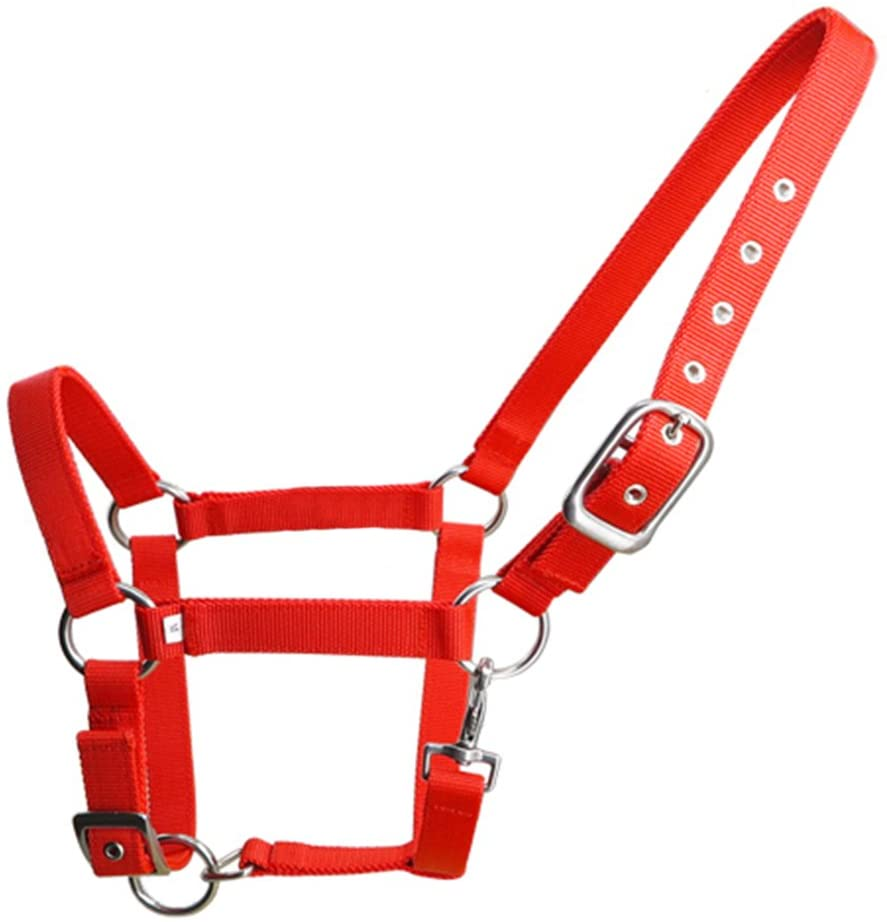 Horse Halter Stainless Steel Hardware with Hook More Durable M