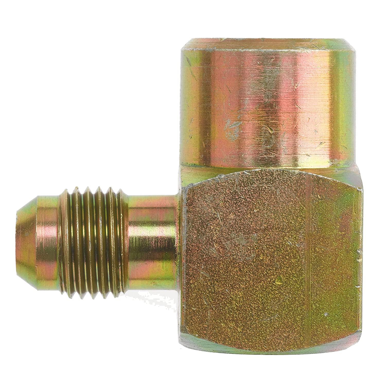 Brennan Industries 2502-08-04-B Brass 90 Degree Elbow Adapter, 3/4