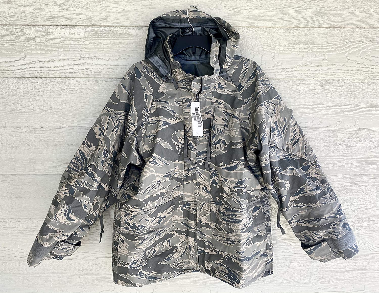 New Genuine Us Air Force USAF Apecs ABU Goretex Cold Weather Parka - Large Short.