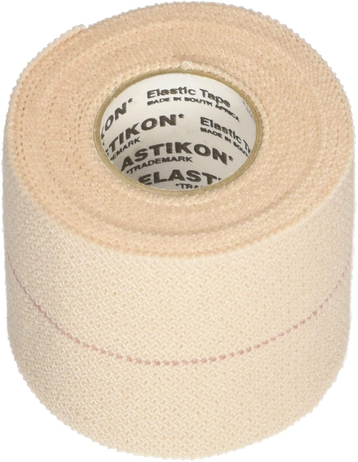 J&J HEALTHCARE First Aid Elastikon ElasticTape - 2 Inches X 2.5 yards - 6 rolls