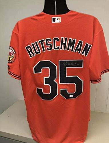 Adley Rutschman Signed Baltimore Orioles Jersey 2 - JSA Certified - Autographed MLB Jerseys