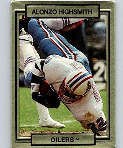 1990 Action Packed #93 Alonzo Highsmith Oilers NFL Football