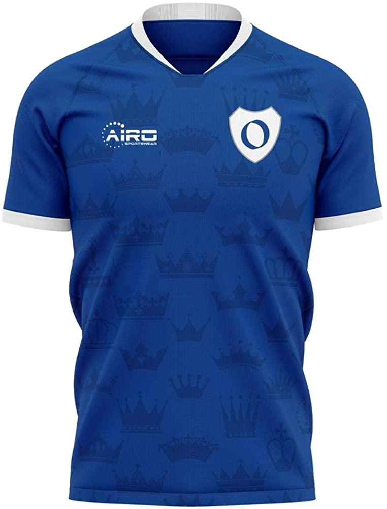 Airosportswear 2020-2021 Real Oviedo Home Concept Football Soccer T-Shirt Jersey