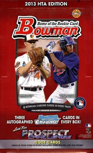 2013 Bowman Baseball Jumbo HTA Box