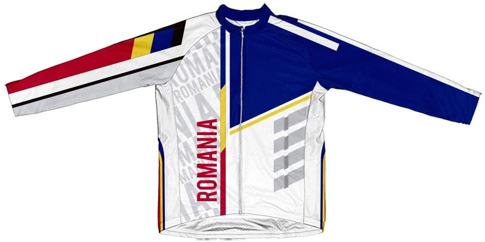 ScudoPro Romania Long Sleeve Cycling Jersey for Men