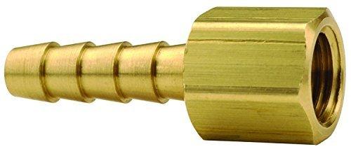 Dixon 143-0814 Brass Female 45° SAE-37° JIC Swivel x Hose Barb, 1/2