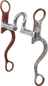 Abetta Pinchless Show Bit - Antique Brown W/silver - 5