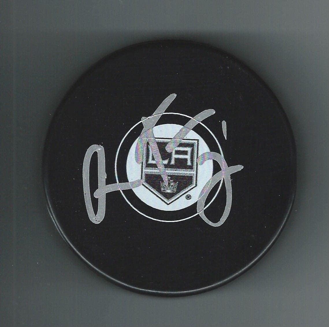 Oscar Fantenberg Autographed Puck - Autographed NHL Pucks
