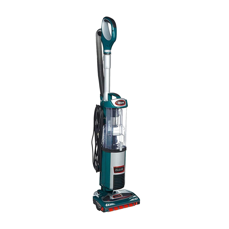 Shark DuoClean Ultra Powerful Slim Upright Vacuum, Green (Renewed)