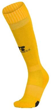 Russell Brand YOUTH All Sports Sock (2 Pair) (Yellow, XS)