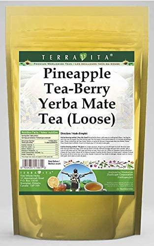 Pineapple Tea-Berry Yerba Mate Tea (Loose) (8 oz, ZIN: 562149) - 2 Pack