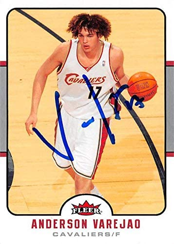 Anderson Varejao autographed Basketball Card (Cleveland Cavaliers) 2006 Fleer #34 - Unsigned Basketball Cards
