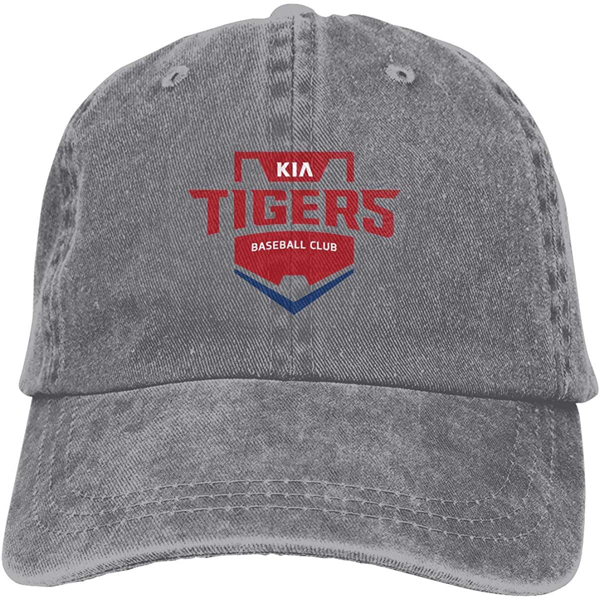 Unisex K-Ia Tigers Cotton & Denim & Tie Dye Dad Hat Baseball Cap