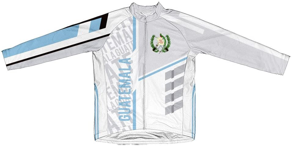 ScudoPro Guatemala Long Sleeve Cycling Jersey for Men