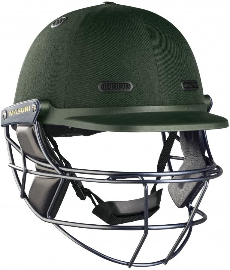 MASURI M-VSTSSMG Vision Series Test Steel Cricket Helmet