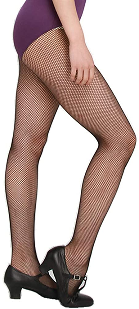 Sexy Mesh Stockings Women's Girls' Studio Basics Seamless Soft Dance Fishnet Tights