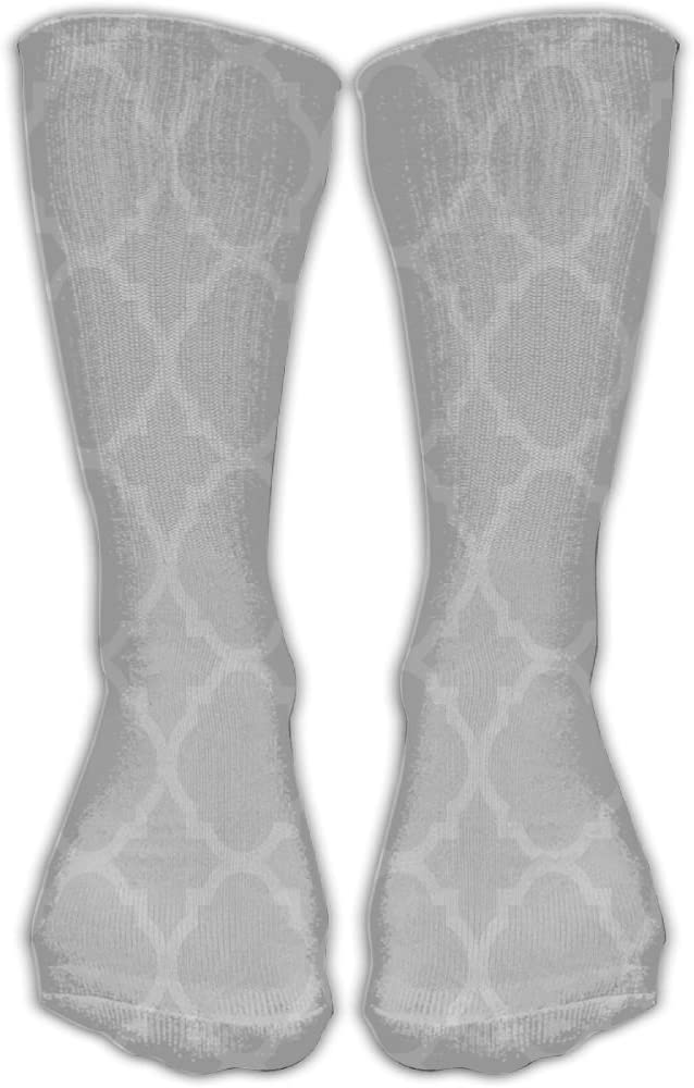 Pin-1 Geometry Athletic Socks Novelty Running Long Sock Cotton Socks