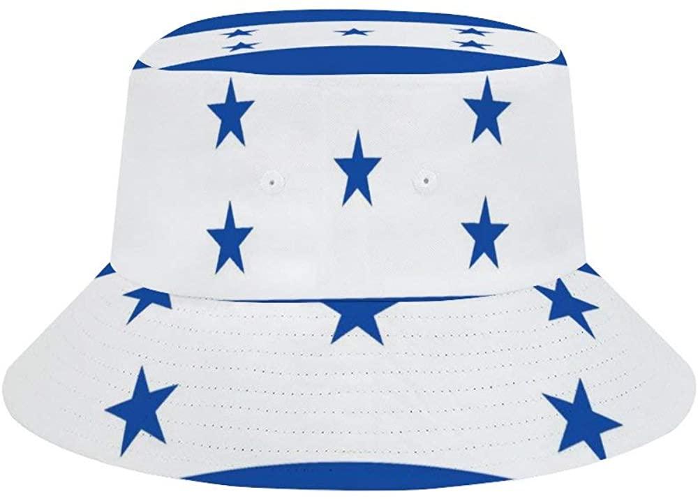 FUSUISN Unisex-Adult Fisherman Hat Flag of Honduras Men's Sun Hat Sun Bucket Hat UV Protection Fisherman Cap Outdoor Hiking Fishing Camping Beach