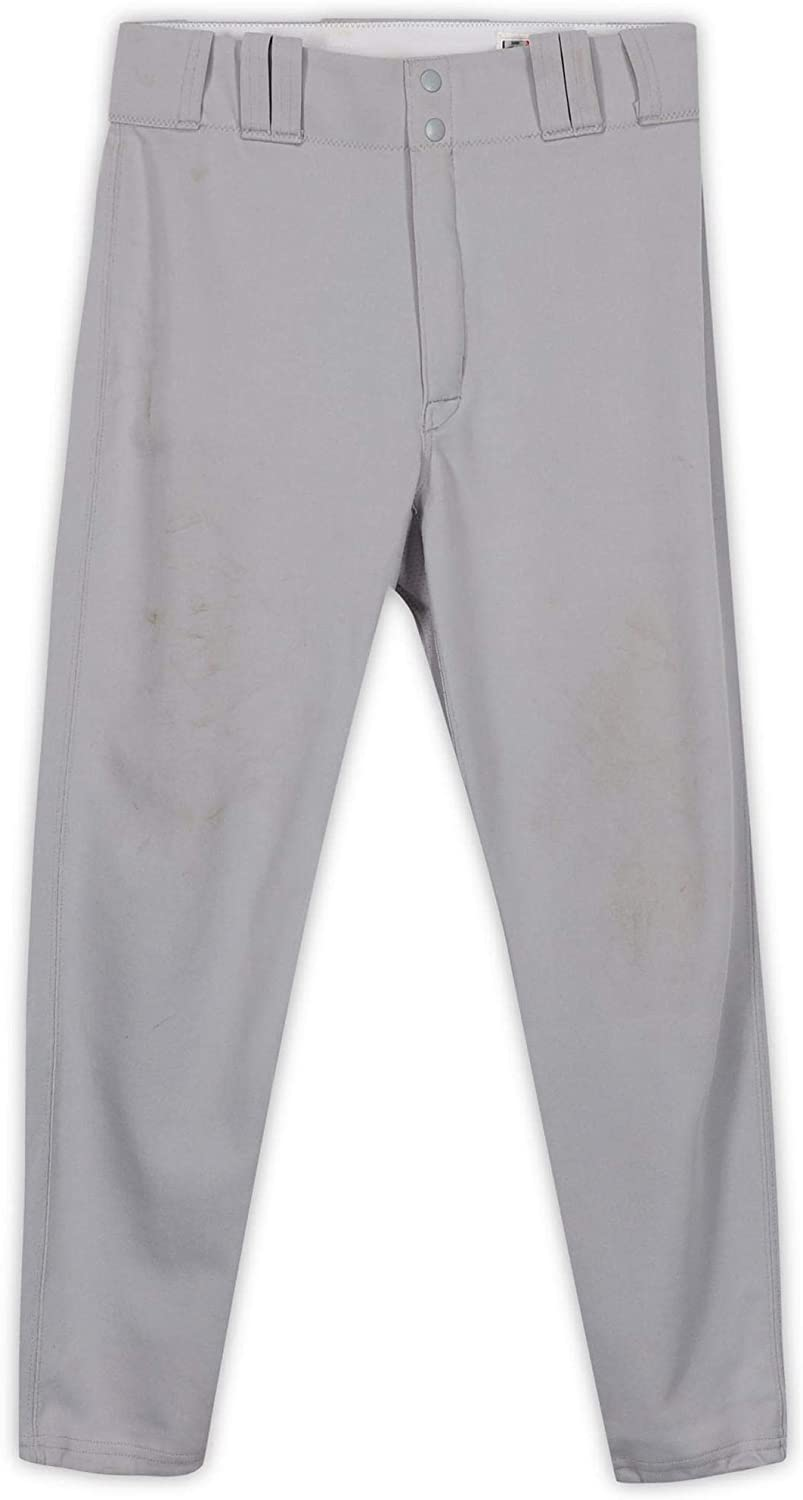Josh Phelps New York Yankees Game-Used #31 Gray Pants from Spring Training of the 2007 MLB Season - Fanatics Authentic Certified