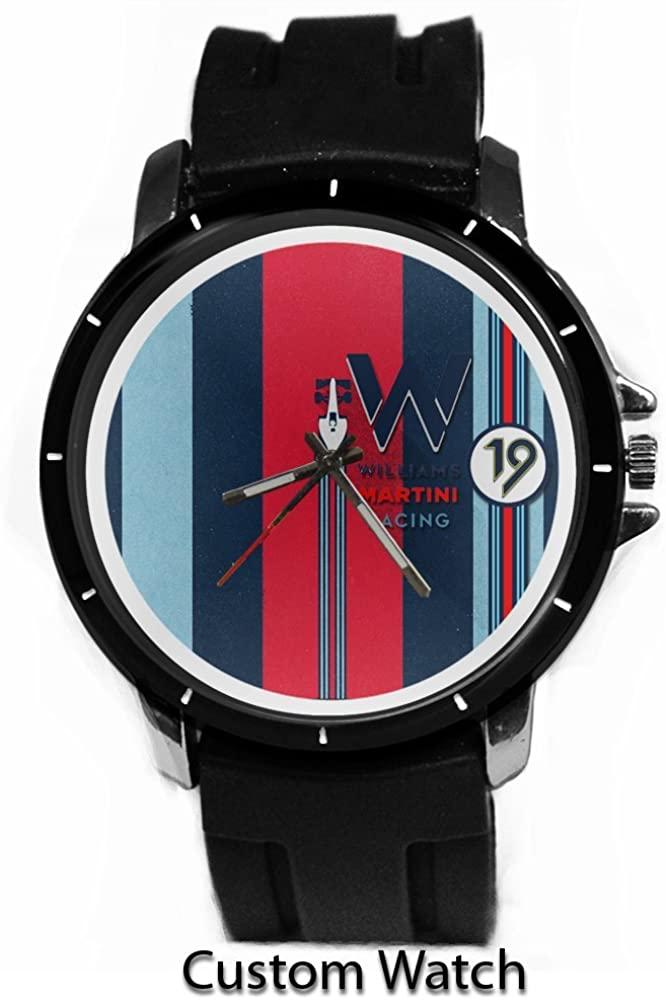 Printed Martini Racing Brand Custom Watch