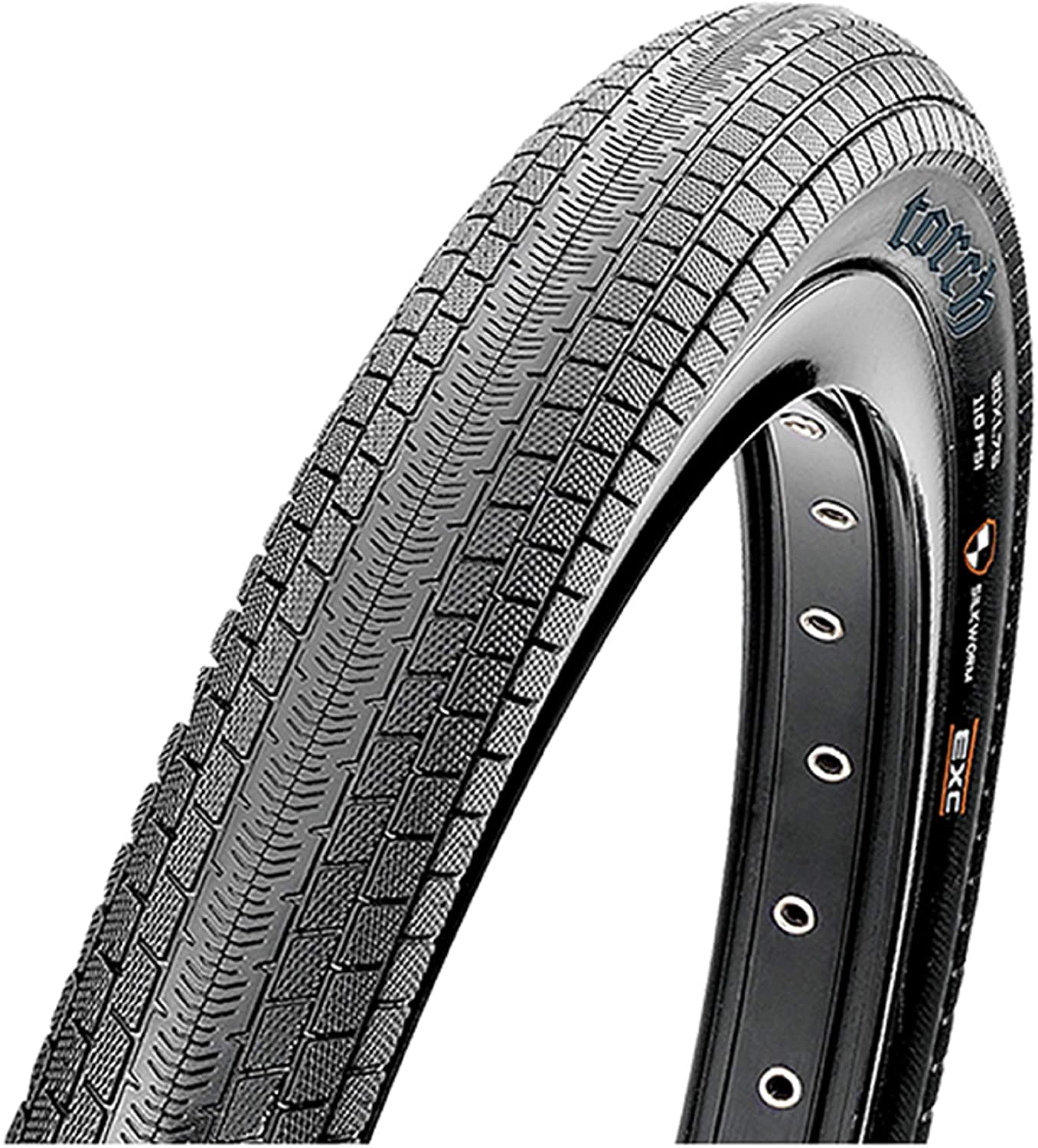 Maxxis Torch Foldable Tire 20 x 1.75 Dual Skin Wall Compound TB24755200