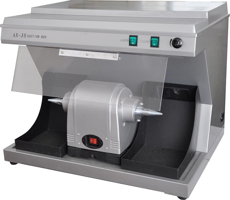 AX-J5 Dental Laboratory Polishing Compact Unit with Built-in Vacuum 110V