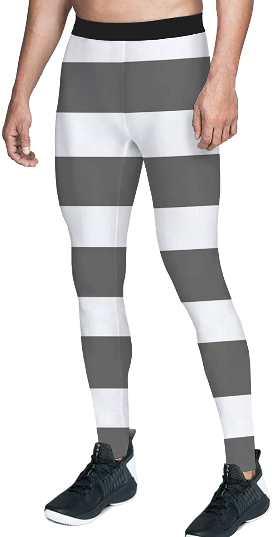 Queen Area Men's Digital Print Compression Sports Tights Pants Running Leggings Yoga Sports Tights Pants