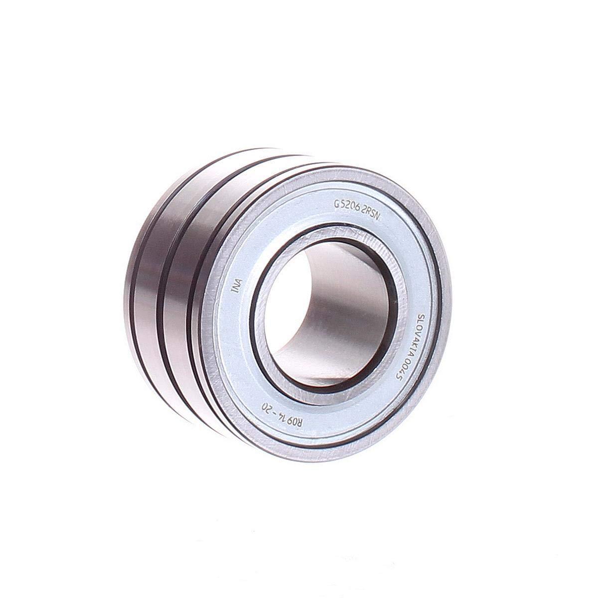 INA G52062RSN Ball Bearing, Double Row, 34MM Width, 62MM OD, 30MM ID