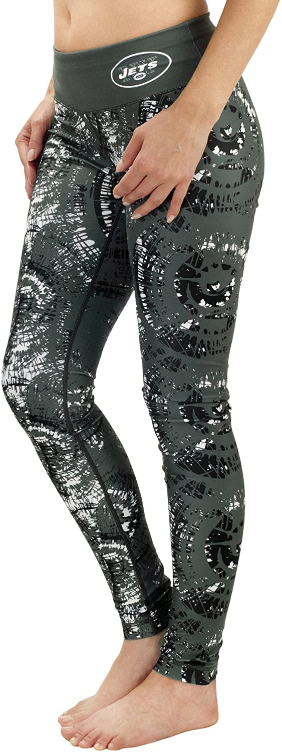 New York Jets Thematic Print Legging Extra Small