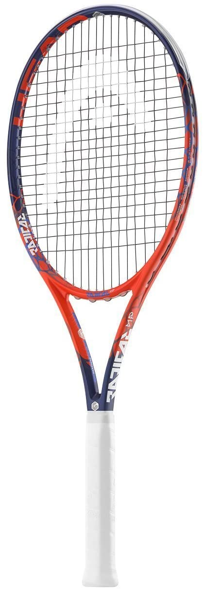 HEAD Graphene Touch Radical MP (Midplus) 16x19 Blue/Red Tennis Racquet (4 1/4 Grip) Strung with White Color String (Andy Murrays Racket)