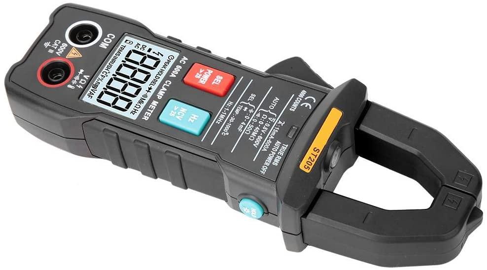 ANENG ST205 4000 Counts Full Intelligent Automatic Range True RMS Digital Multimeter Digital Clamp Meter Auto-Ranging(Orange)