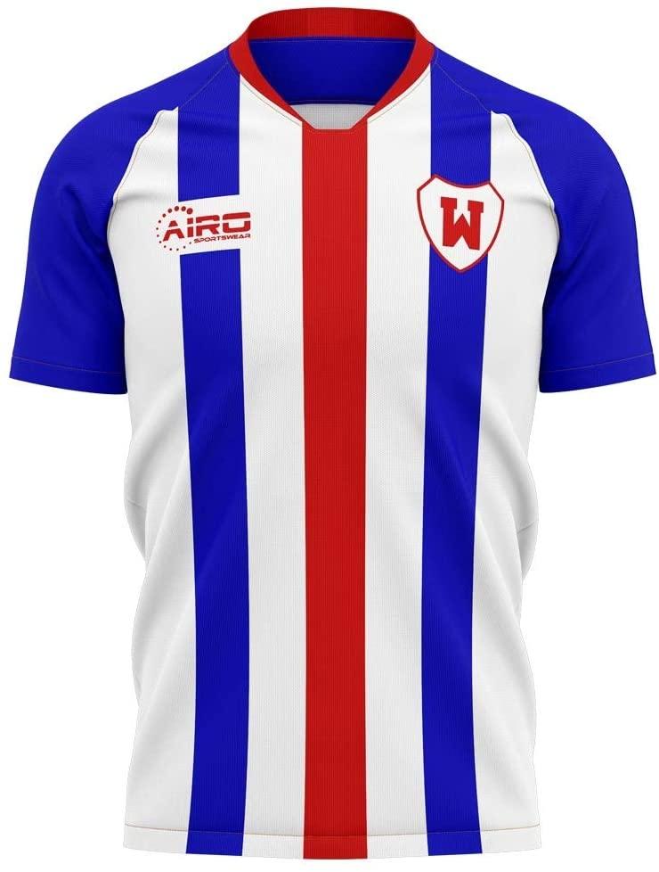 Airosportswear 2020-2021 Williem II Home Concept Football Soccer T-Shirt Jersey