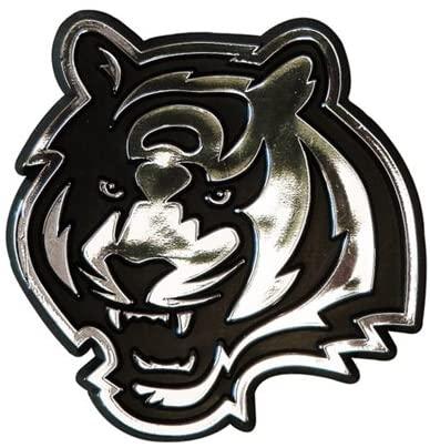 Hall of Fame Memorabilia Cincinnati Bengals Silver Auto Emblem