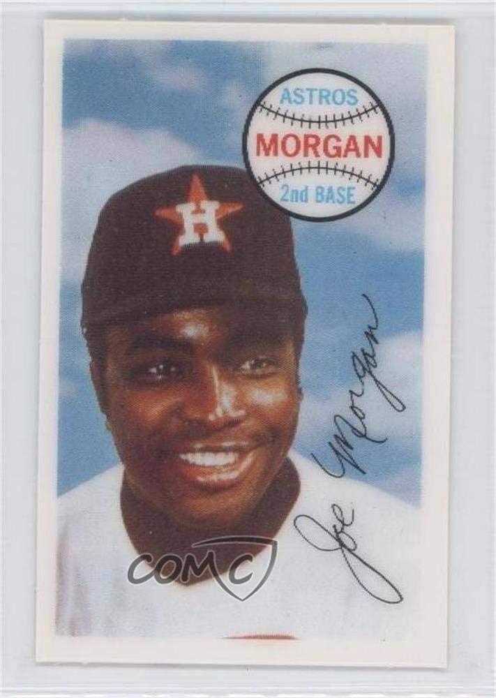 Joe Morgan (Baseball Card) 1970 Kellogg's 3-D Super Stars - [Base] #72