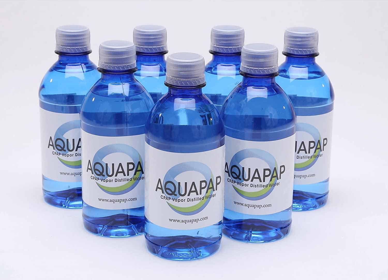 Aquapap CPAP Water 8 x 12 Ounce Bottles